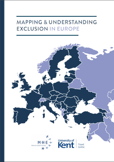 Mapping and Understanding Exclusion in Europe   Resource