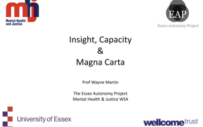 Insight, Capacity and Magna Carta – Wayne Martin