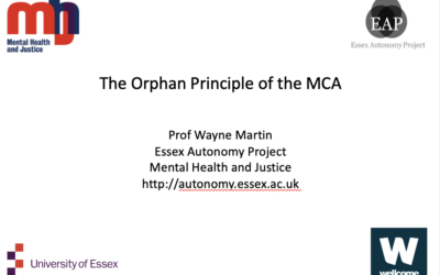 The Orphan Principle of the MCA – Wayne Martin